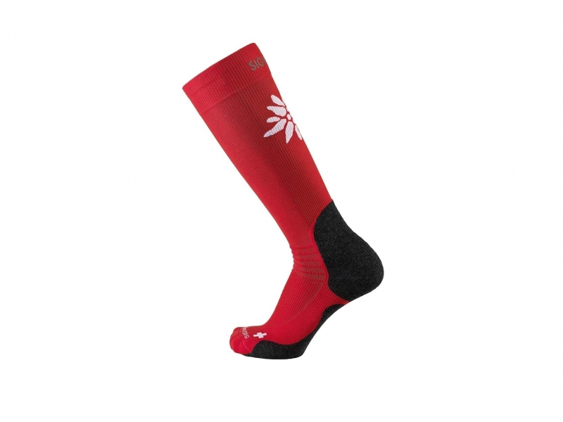 Sigvaris mountain socks L 39-42.5 red