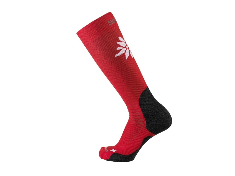 Sigvaris mountain socks L 35-38.5 red