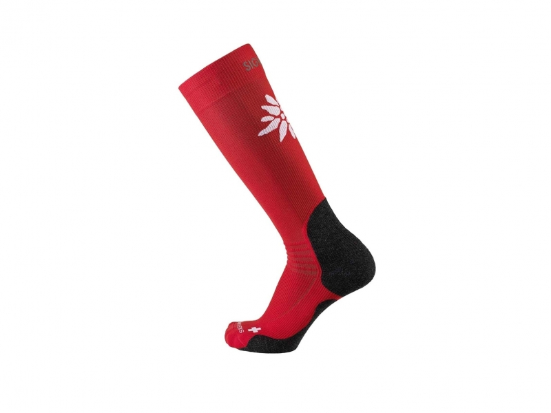 Sigvaris mountain socks L 43-6.5 red
