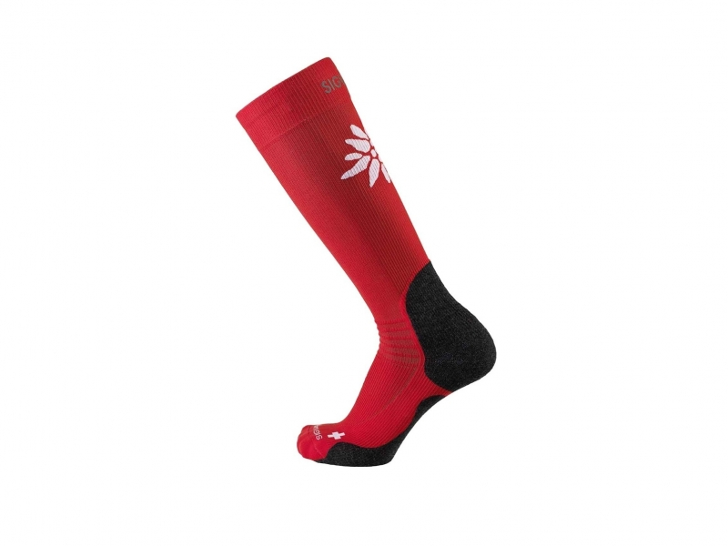 Sigvaris mountain socks L 47-50 red