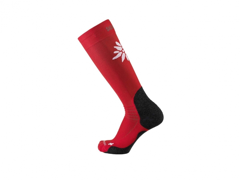 Sigvaris mountain socks M 35-38.5 red