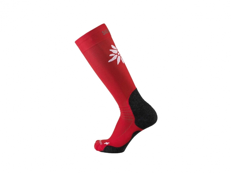 Sigvaris mountain socks M 43-46.5 red
