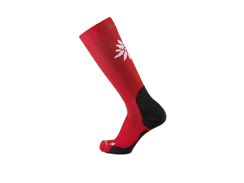 Sigvaris mountain socks S 35-38.5 red
