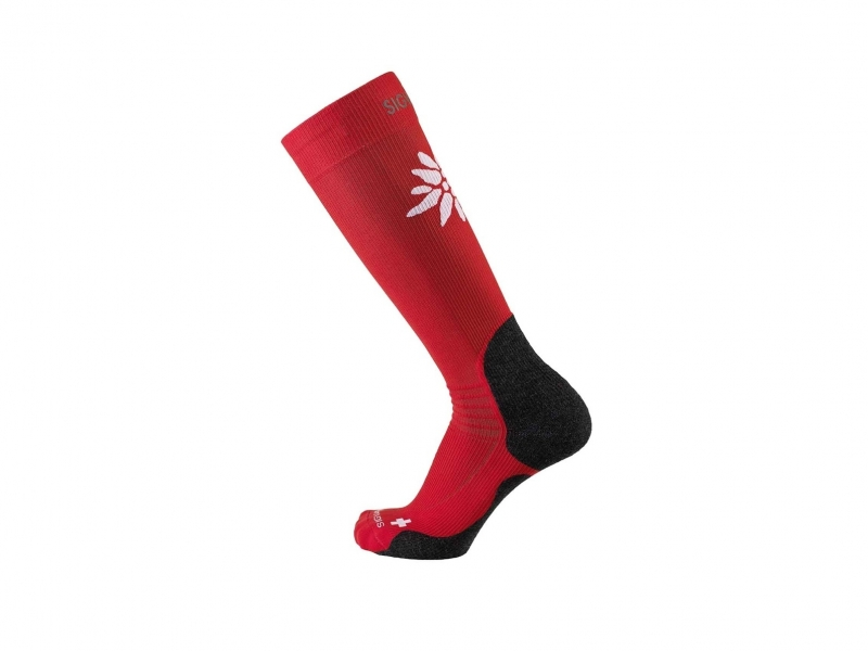 Sigvaris mountain socks S 43-46.5 red
